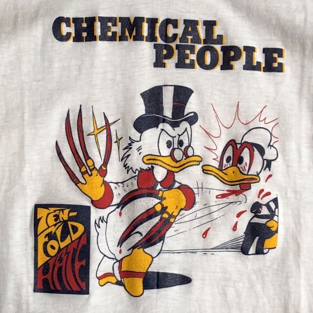 USED! CHEMICAL PEOPLE Tシャツ VINTAGE Ten Fold Hate