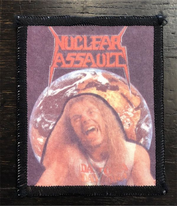 NUCLEAR ASSAULT VINTAGEワッペン