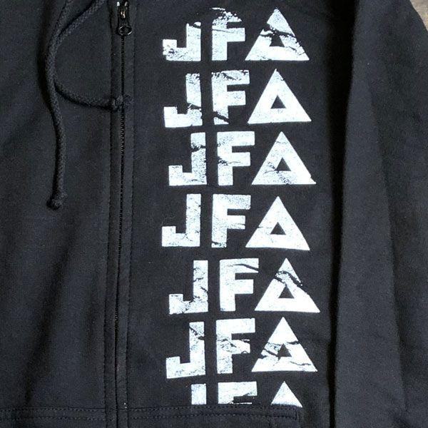 JFA ZIPパーカー LOGO