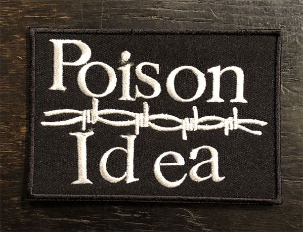 POISON IDEA 刺繍ワッペン Barbed LOGO