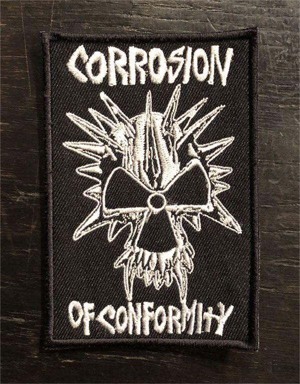 Corrosion of conformity 刺繍ワッペン 原爆ウニ2