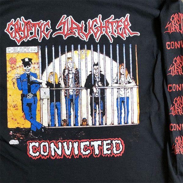 CRYPTIC SLAUGHTER LONGSLEEVE TシャツConvicted オフィシャル!