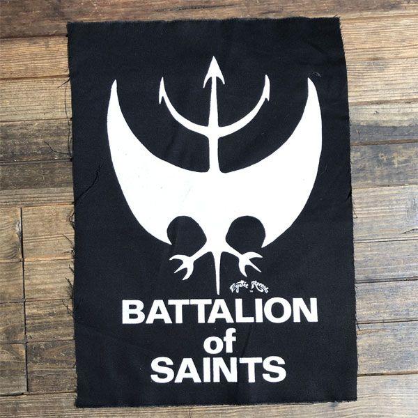 BATTALION OF SAINTS BACKPATCH