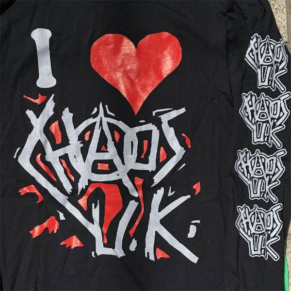 CHAOS UK ロンT I LOVE CHAOS U.K