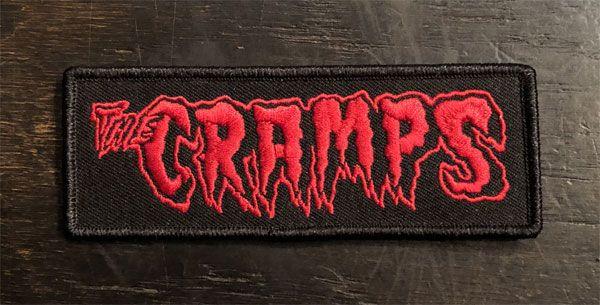 CRAMPS 刺繍ワッペン LOGO