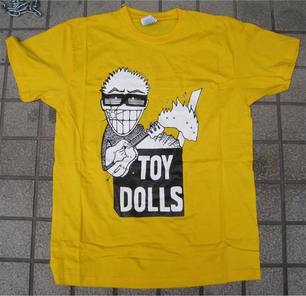 TOY DOLLS Tシャツ Idle Gossip