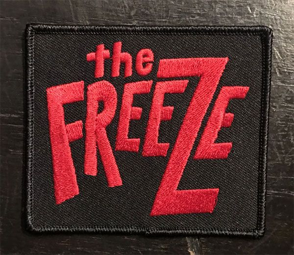 THE FREEZE 刺繍ワッペン LOGO
