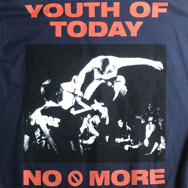 YOUTH OF TODAY ロンT NO MORE