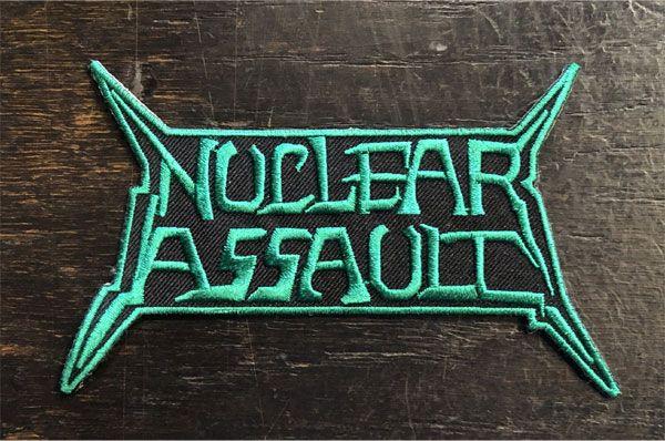 NUCLEAR ASSAULT 刺繍ワッペン LOGO