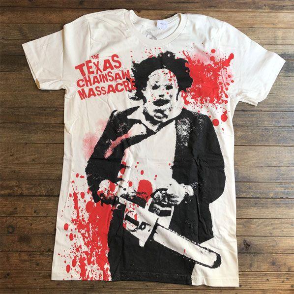 The Texas ChainSaw Massacre Tシャツ splatter