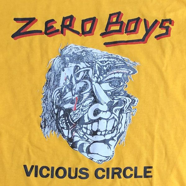 ZERO BOYS Tシャツ VICIOUS CIRCLE