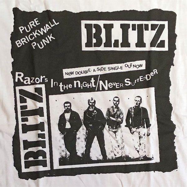 BLITZ Tシャツ PURE BRICK WALL