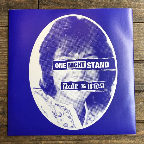 """YOUTH OF TODAY 7"""" EP ONE NIGHT STAND"""