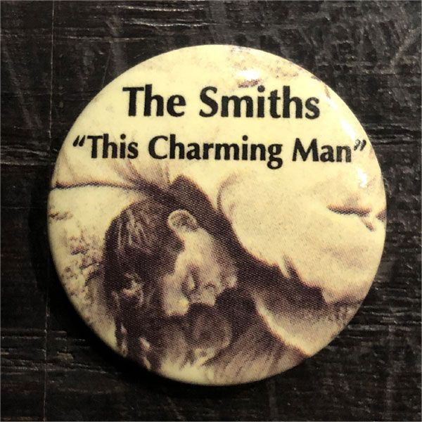 THE SMITHS レア小バッジ this charming man