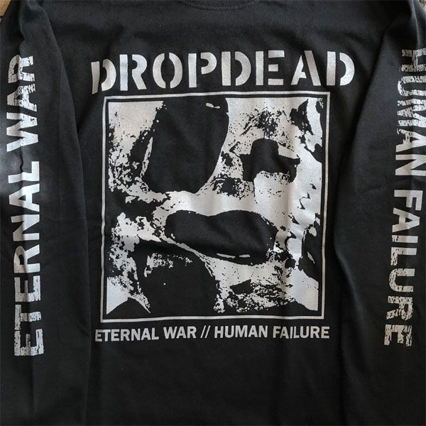DROPDEAD ロングスリーブTシャツ ETERNAL WAR