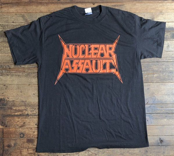 USED! NUCLEAR ASSAULT Tシャツ オリジナル!!!