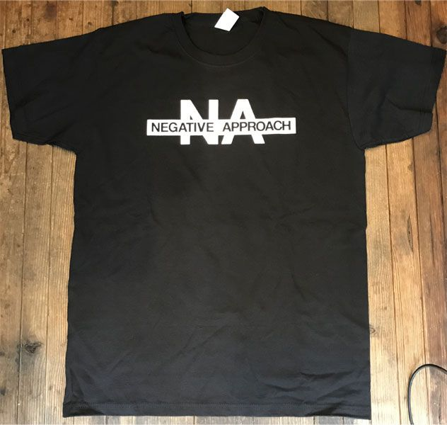 NEGATIVE APPROACH Tシャツ NOTHING WILL STAND IN OUR WAY