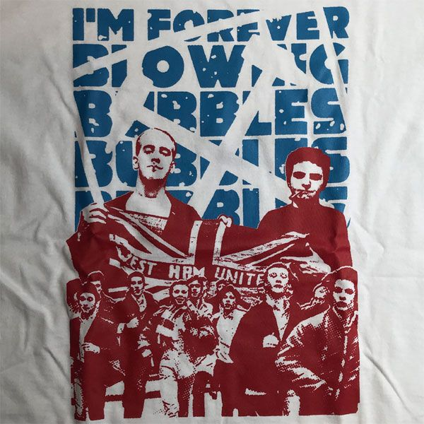 COCKNEY REJECTS Tシャツ I'M FOREVER BLOWING BUBBLES