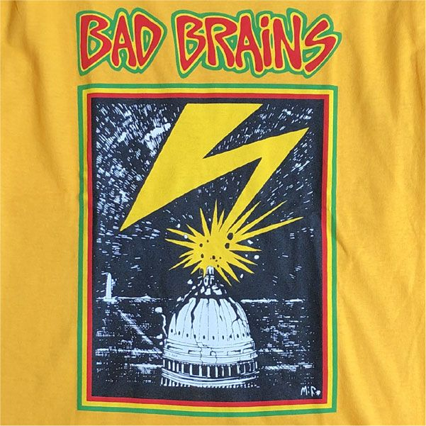 BAD BRAINS Tシャツ BAD BRAINS YELLOW