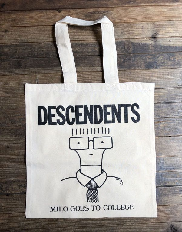 DESCENDENTS TOTEBAG MILO GOES TO COLLEGE