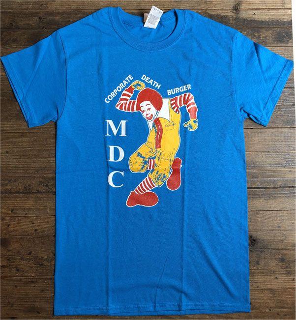 MDC Tシャツ CORPORATE DEATH BURGER 3