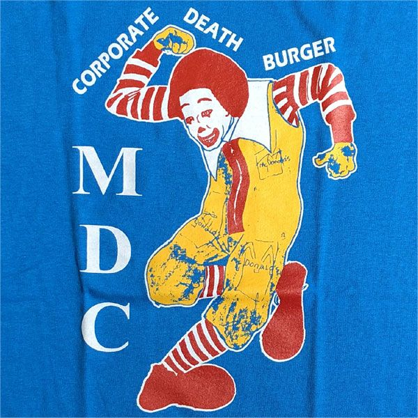 MDC Tシャツ CORPORATE DEATH BURGER 3