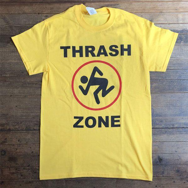 D.R.I. Tシャツ THRASH ZONE オフィシャル!