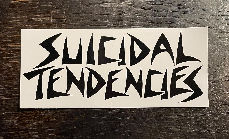 SUICIDAL TENDENCIES ステッカー LOGO
