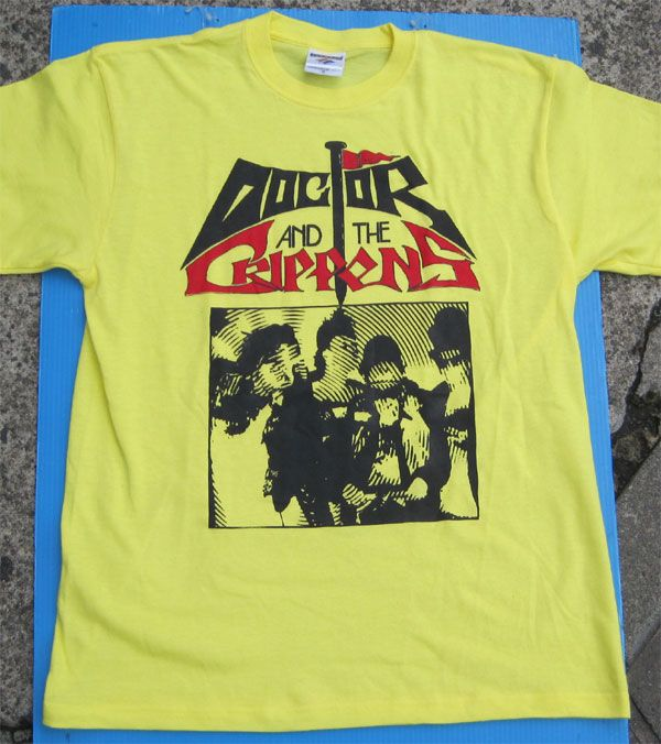 DOCTOR AND THE CRIPPENS Tシャツ PHOTO