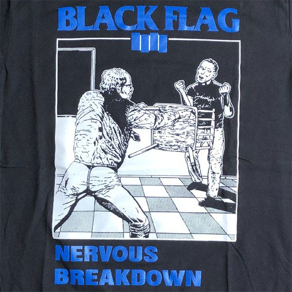 BLACK FLAG Tシャツ NERVOUS BREAKDOWN 5