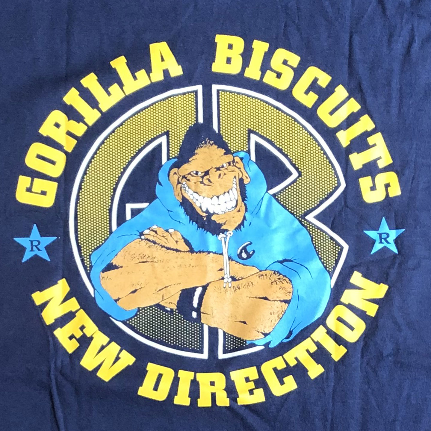 GORILLA BISCUITS Tシャツ NEW DIRECTION