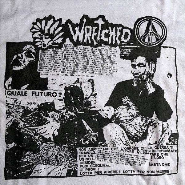 Wretched Tシャツ FINIRA MAI?
