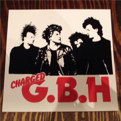 G.B.H ステッカー PHOTO