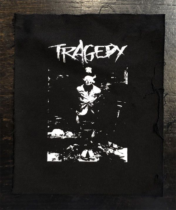 TRAGEDY patch crucifixion
