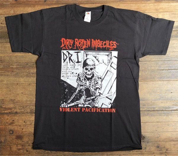 D.R.I. Tシャツ Violent Pacification