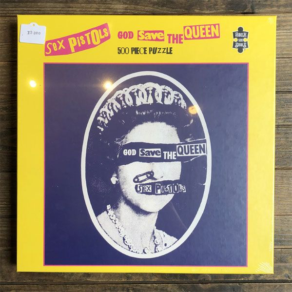SEX PISTOLS 500ピース パズル GOD SAVE THE QUEEN