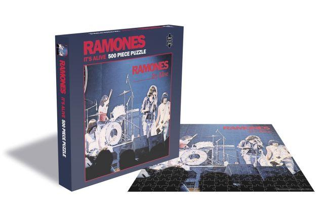 RAMONES 500ピース パズル IT'S ALIVE