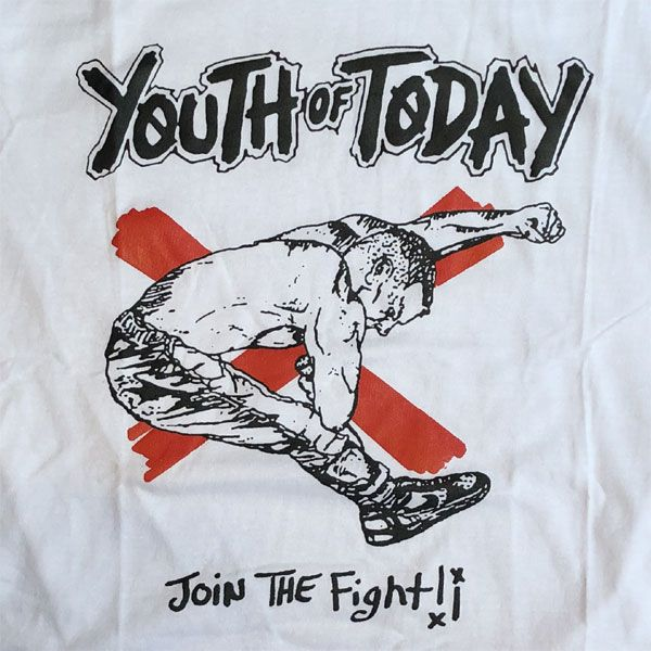 YOUTH OF TODAY Tシャツ JOIN THE FIGHT!