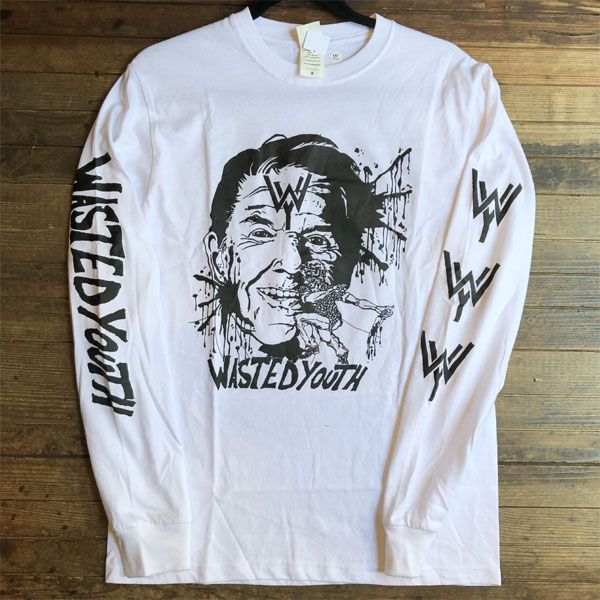 B品! WASTED YOUTH ロンT Reagan's In