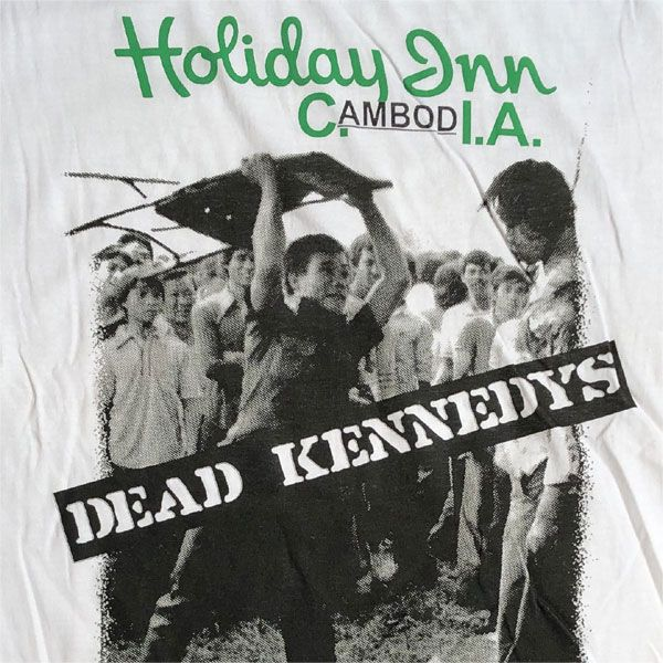 DEAD KENNEDYS Tシャツ HOLIDAY IN CAMBODIA オフィシャル