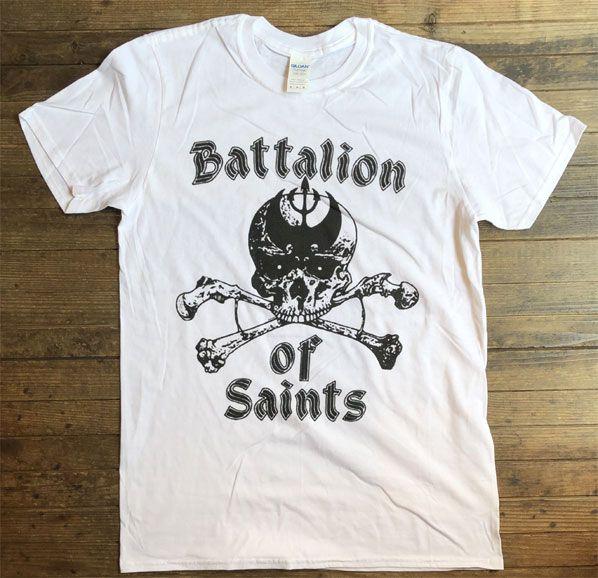 BATTALION OF SAINTS Tシャツ SKULL オフィシャル