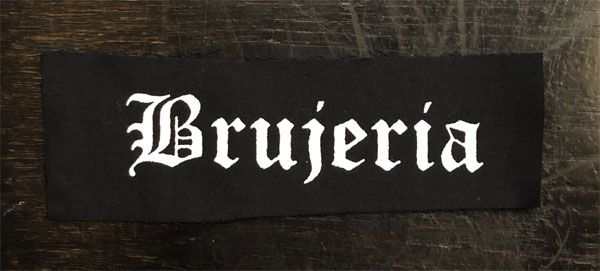 Brujeria PATCH LOGO