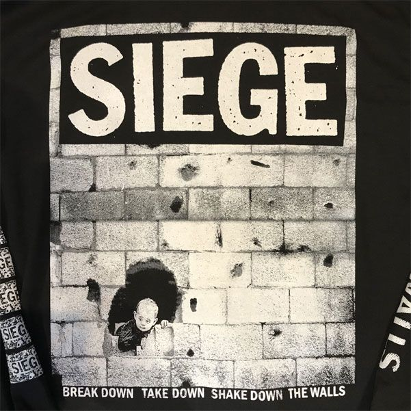 SIEGE ロングスリーブTシャツ WALLS