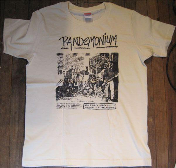 PANDEMONIUM Tシャツ PHOTO