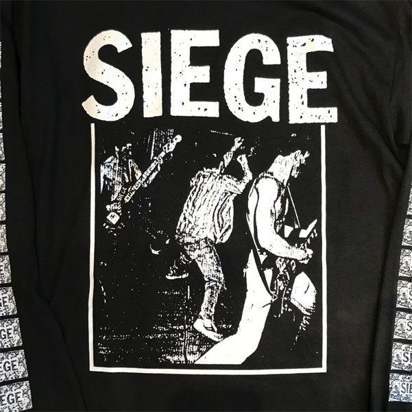 SIEGE ロングスリーブTシャツ LIVE