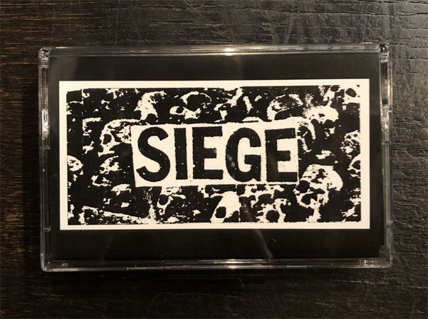 "SIEGE カセット ""DROP DEAD 30TH ANNIVERSARY EDITION"""
