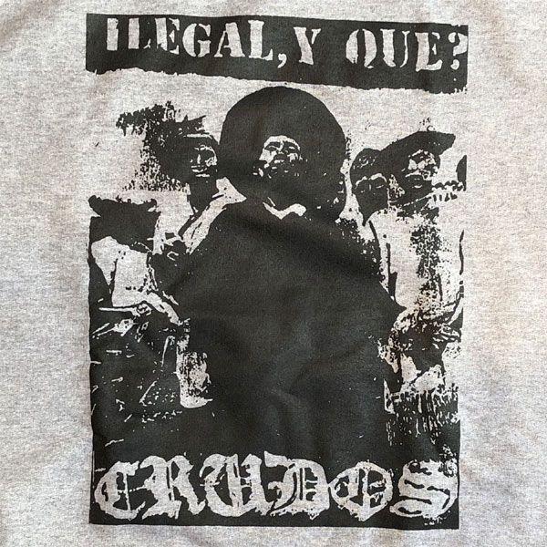 LOS CRUDOS スウェット ilegal y que