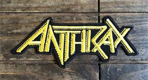 ANTHRAX ワッペン ロゴ
