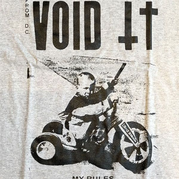 VOID Tシャツ MY RULES