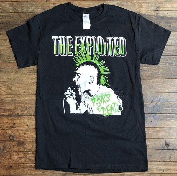 THE EXPLOITED Tシャツ PUNKS NOT DEAD2